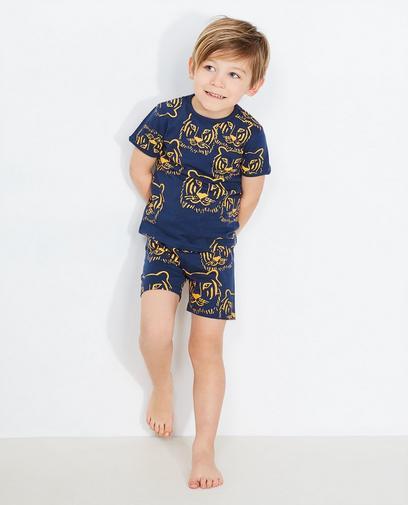 Pyjama bleu foncé